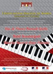 Concert: Duo de Pianos Hamadi-Guillo
